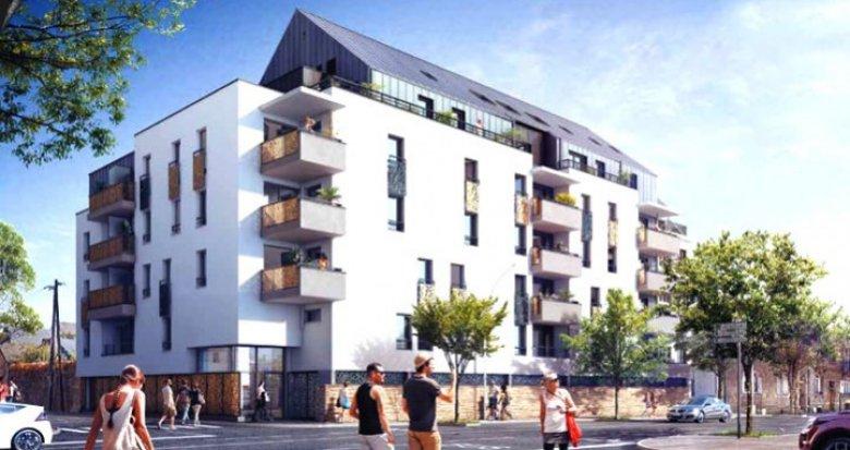 Achat / Vente immobilier neuf Nantes secteur résidentiel Saint-Félix (44000) - Réf. 1162