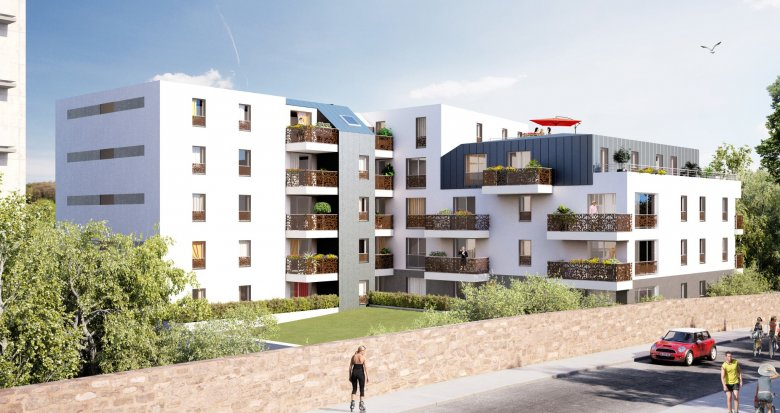 Achat / Vente immobilier neuf NANTES VALLEE DU CENS (44000) - Réf. 2108