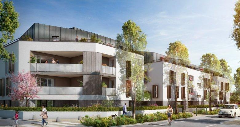 Achat / Vente immobilier neuf Nantes Vieux Doulon proche du parc du Grand Blottereau (44000) - Réf. 3325