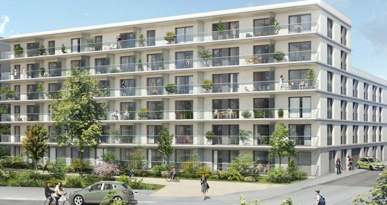 Achat / Vente immobilier neuf Nantes vue sur la Loire (44000) - Réf. 231