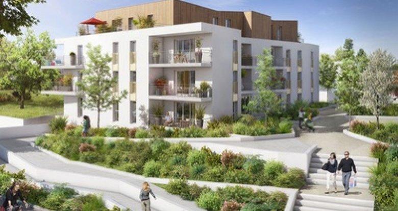 Achat / Vente immobilier neuf Nort-Sur-Erdre quartier Faubourg Saint-Georges (44390) - Réf. 3052