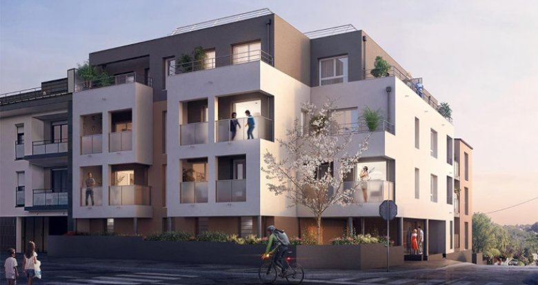 Achat / Vente immobilier neuf Orvault Petit Chantilly (44700) - Réf. 5525