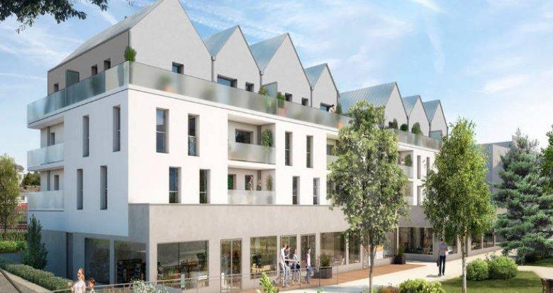 Achat / Vente immobilier neuf Pontchâteau ilot des centrais (44160) - Réf. 5300