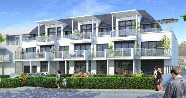Achat / Vente immobilier neuf Pornichet à a 50m de la plage Sainte-Marguerite (44380) - Réf. 5654