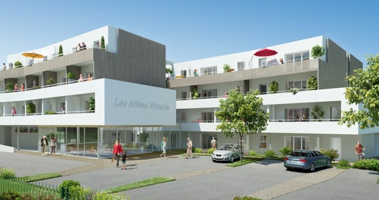 Achat / Vente immobilier neuf Pornichet centre-ville Océan (44380) - Réf. 1095