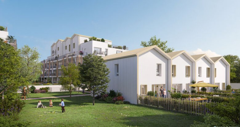 Achat / Vente immobilier neuf Rezé à 15 min du centre de Nantes (44400) - Réf. 4971