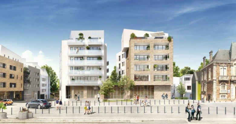 Achat / Vente immobilier neuf Rezé au coeur du centre historique et des commodités (44400) - Réf. 4176