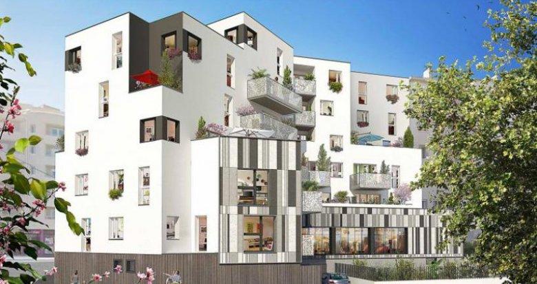 Achat / Vente immobilier neuf Rezé quartier Pont-Rousseau (44400) - Réf. 774