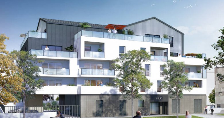 Achat / Vente immobilier neuf Saint-Herblain à deux pas du tramway (44800) - Réf. 4272
