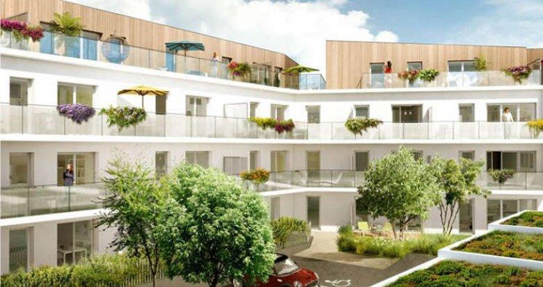Achat / Vente immobilier neuf Saint-Herblain centre historique (44800) - Réf. 906