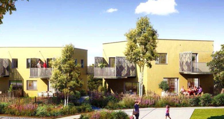 Achat / Vente immobilier neuf Saint-Herblain éco-quartier de la Pelousière (44800) - Réf. 487