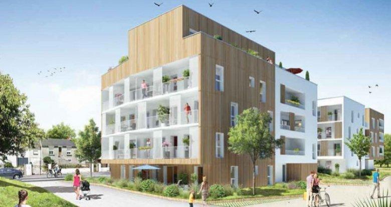 Achat / Vente immobilier neuf Saint-Herblain face au Parc de la Bourgonnière (44800) - Réf. 1094