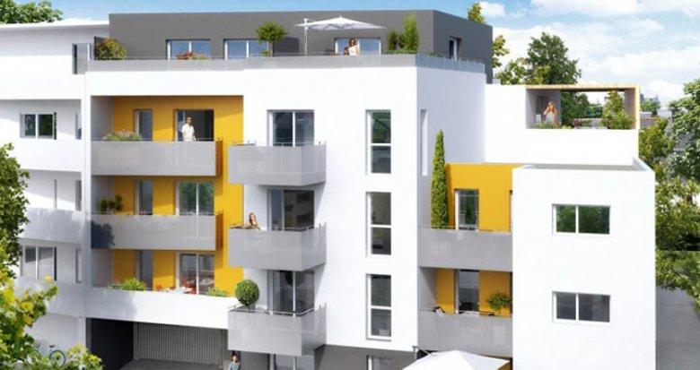 Achat / Vente immobilier neuf Saint-Herblain face parc de la Bourgonnière (44800) - Réf. 1170
