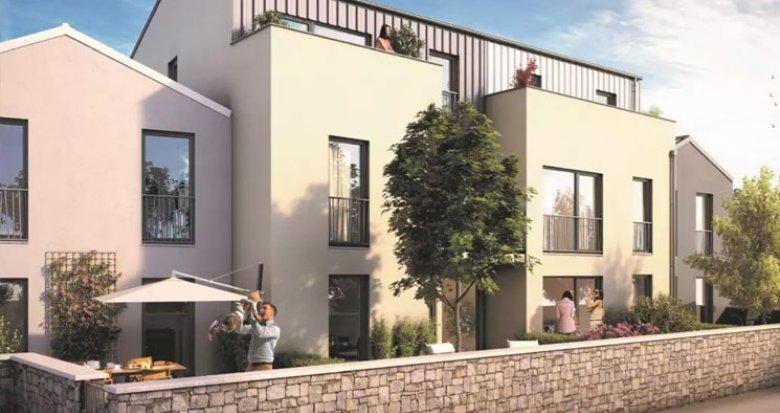 Achat / Vente immobilier neuf Saint Herblain proche commerces (44800) - Réf. 2382