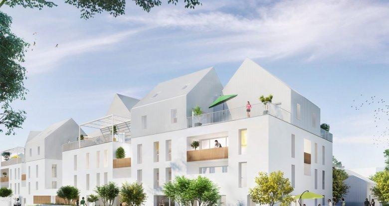 Achat / Vente immobilier neuf Saint-Herblain proche Nantes (44800) - Réf. 1627
