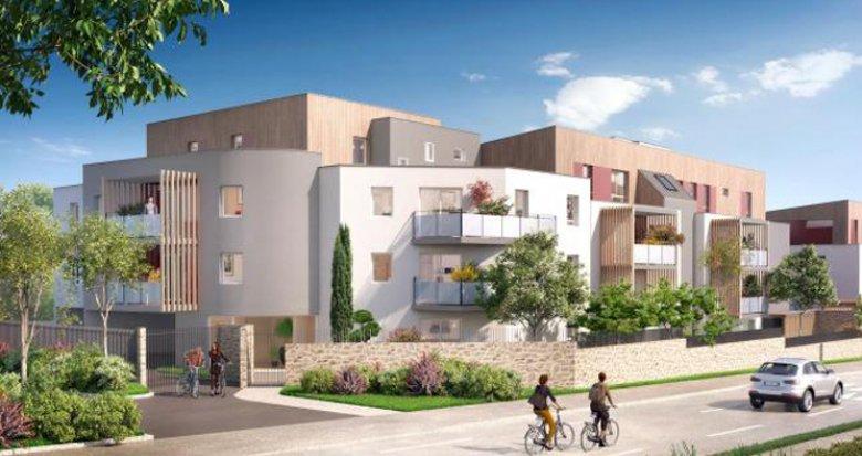 Achat / Vente immobilier neuf Saint Herblain proche parc de la Bégraisière (44800) - Réf. 3486