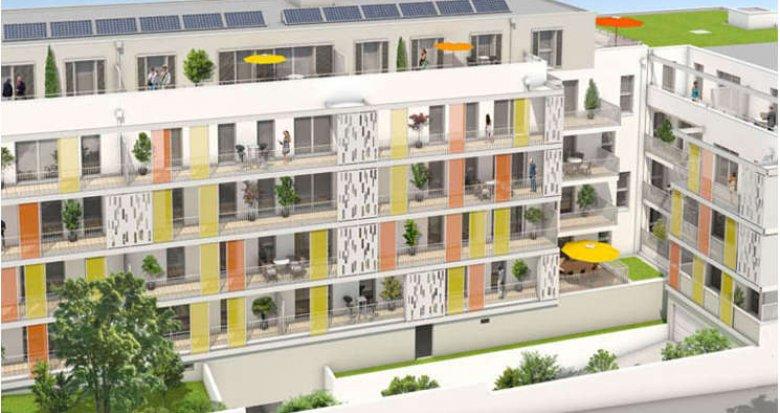 Achat / Vente immobilier neuf Saint-Herblain proche Parc de la Begraisière (44800) - Réf. 1541