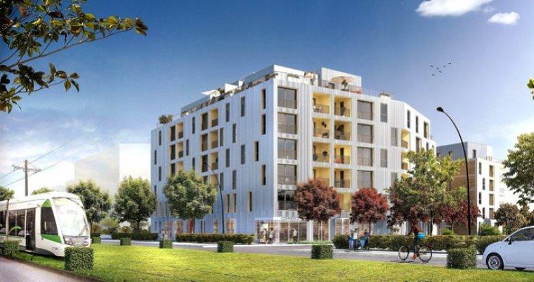 Achat / Vente immobilier neuf Saint-Herblain proximité tramway (44800) - Réf. 687
