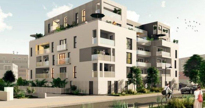 Achat / Vente immobilier neuf Saint-Herblain quartier Romanet (44800) - Réf. 3756