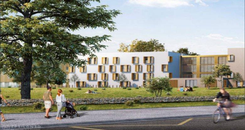 Achat / Vente immobilier neuf Saint-Nazaire au coeur du campus Heinlex (44600) - Réf. 5157