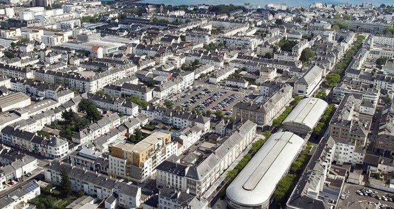 Achat / Vente immobilier neuf Saint-Nazaire au coeur du centre (44600) - Réf. 1723