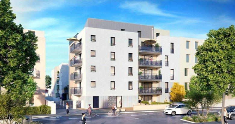 Achat / Vente immobilier neuf Saint-Nazaire quartier de la Vecquerie (44600) - Réf. 2701
