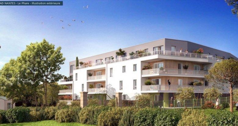 Achat / Vente immobilier neuf Saint-Nazaire quartier du Phare de Kerlédé (44600) - Réf. 2075