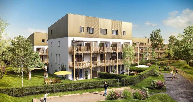 Achat / Vente immobilier neuf Saint-Nazaire quartier le Grand Gavy (44600) - Réf. 1738
