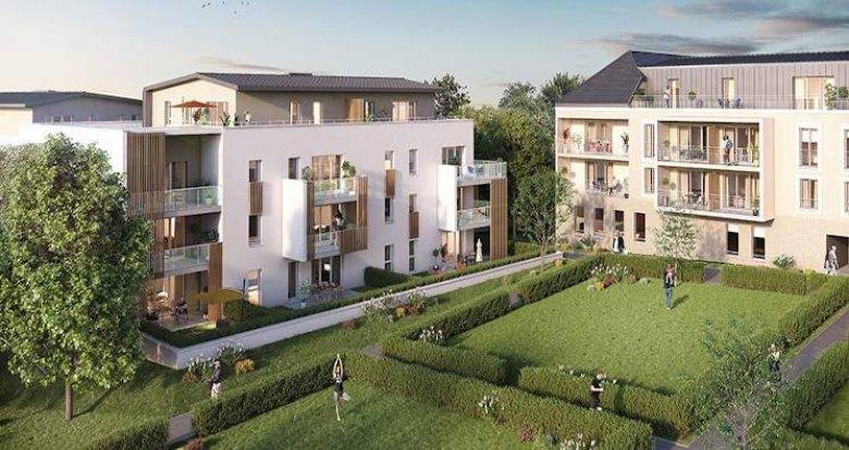 Achat / Vente immobilier neuf Saint Philbert de grand lieu au coeur du centre-ville (44310) - Réf. 4922