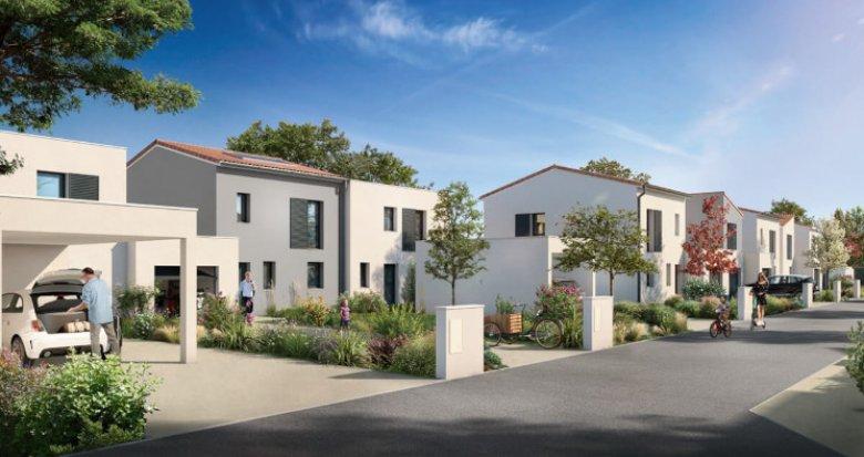 Achat / Vente immobilier neuf Saint-Sebastien-sur-Loire face au bois des Gripôts (44230) - Réf. 5249