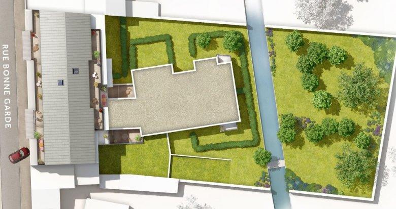 Achat / Vente immobilier neuf Saint-Sébastien-sur-Loire proche canaux de Sèvre (44230) - Réf. 1914