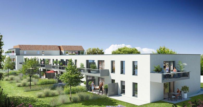 Achat / Vente immobilier neuf Saint-Sébastien-sur-Loire quartier de la martellière (44230) - Réf. 1105
