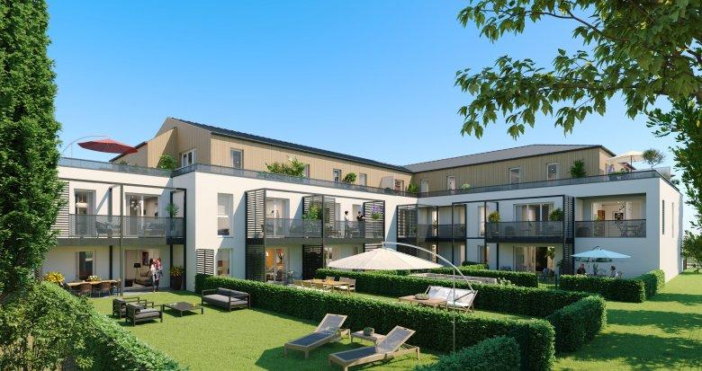 Achat / Vente immobilier neuf Sautron coeur de ville (44880) - Réf. 3222