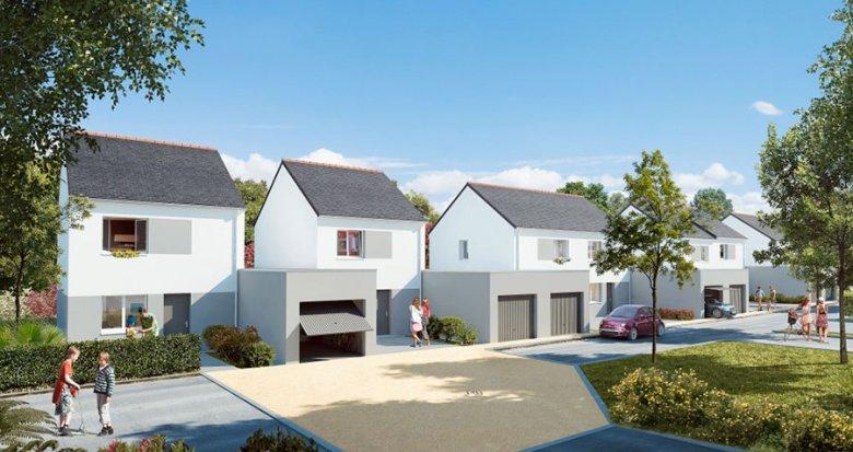 Achat / Vente immobilier neuf Treillières centre (44119) - Réf. 312